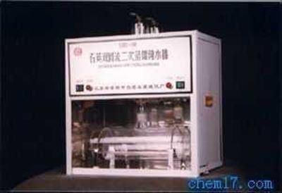 1810-C石英亚沸自动三重高纯水蒸馏水器