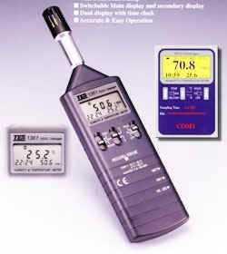 记忆式温湿度仪