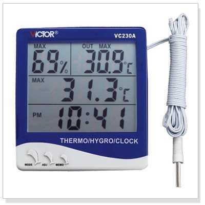 数字温湿度表