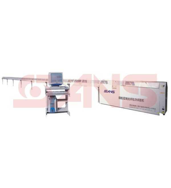 微机控制光纤卧式拉力试验机