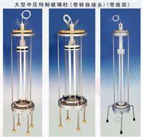 中压特制玻璃层析柱带转换接头适用于分子筛,离子交换,凝胶渗透与亲和层析 规格|参数|价格|详细资料