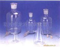 厂家直销,龙头瓶、放水瓶、上下咀过滤瓶,玻璃仪器生产厂家