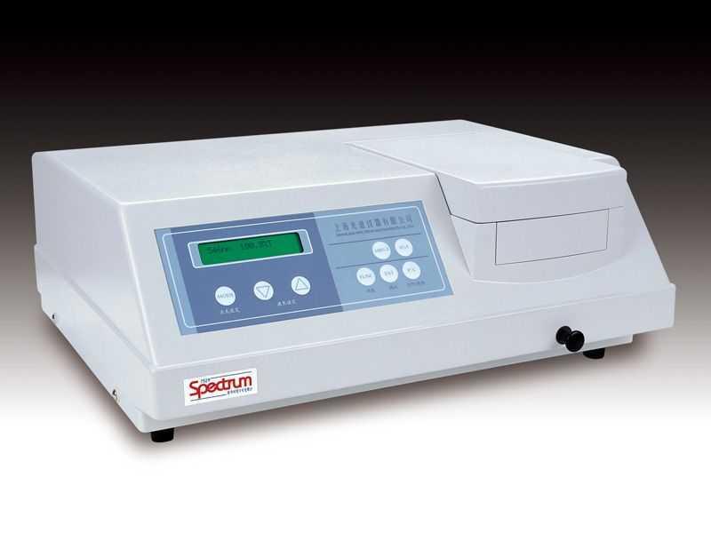SP-752紫外可見分光光度計
