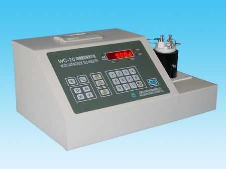 WC-20型盐含量测定仪
