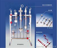 高压水冷夹层析柱带转换接头柱内可增压大8巴 生化用 价格 参数 详细资料 规格 图片 玻璃