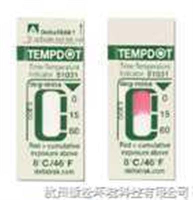 美国deltatrak51030 51031 51032时间温度标贴