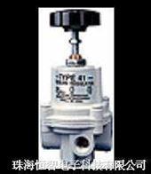 T-41型可调高流量精密调压器