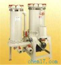 中国台湾塑宝双塔化学药液过滤机
