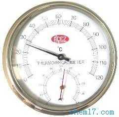 圆形温湿度表