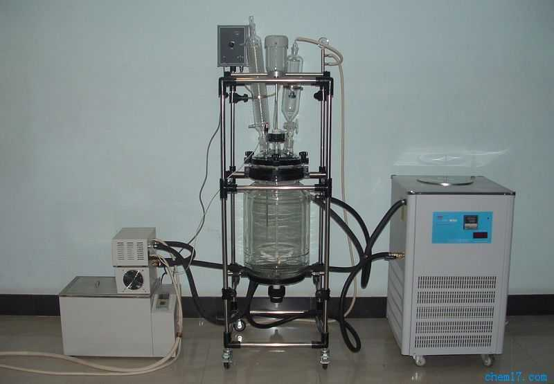 小试中试级恒温调速双层反应装置