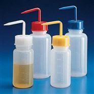 KARTELL宽口洗瓶,黄色盖子,材质:PE,容量:250ml,GL45