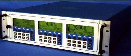 双重红外多路气体分析仪