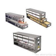 立式不銹鋼冰箱分隔柜