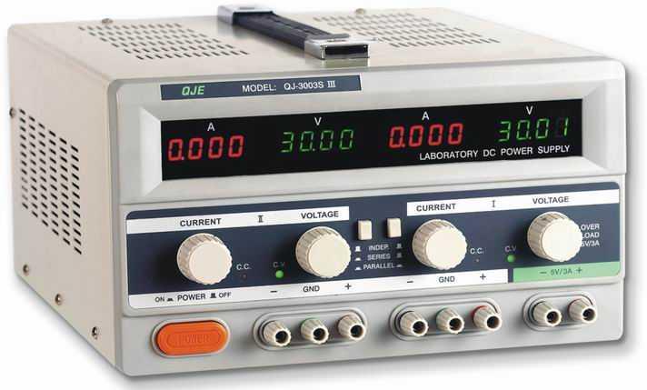 产品展示 宁波求精直流电源系列 多路直流电源 >>直流稳压电源qj3003s