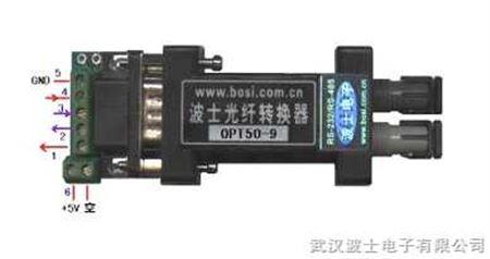 opt50-9,opt50s-9 单片机用ttl/光纤转换器 (opt50-9