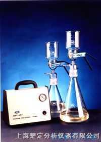 溶剂过滤器/DL-01带泵流动相真空过滤装置/过滤装置带泵 1000ml 砂芯过滤装置
