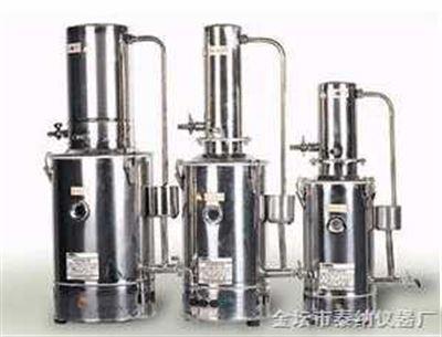 JYZD-10不锈钢电热蒸馏水器