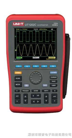 UT1202C手持式数字示波表