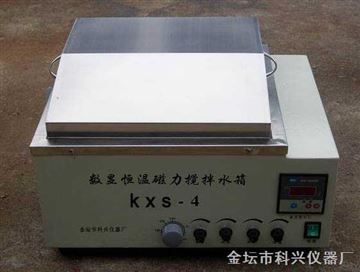 KXS-4數顯磁力攪拌水浴鍋