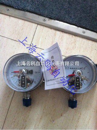 接点压力表经与相应的电气器件(如继电器及接触器等)
