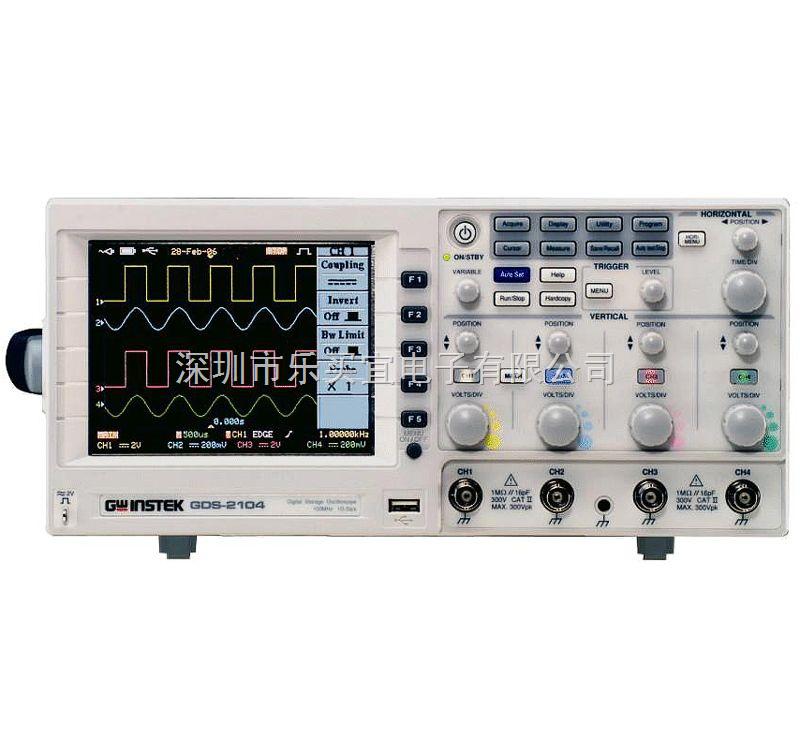 台湾固纬gds-2000 系列数字存储示波器