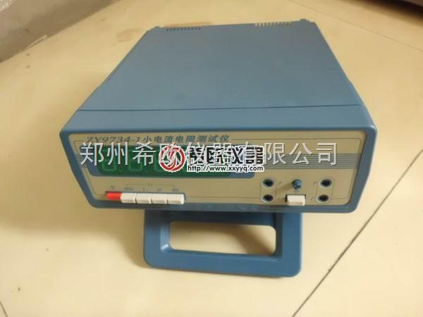 小电流直流电阻测试仪技术参数 200mΩ-20Ω四档量程,LED绿色大数显(4½位),专为被测阻值范围和测试电流要求较小的用户设计的最经济测试设备。精确度等级0.05%。 产品详细介绍 测量范围 200mΩ、2Ω、20、200Ω四档量程 最小分辨力 10μΩ 量程 测量范围 分辨力 测试电流 准确度等级 200mΩ 0-199.