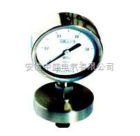 不锈钢隔膜耐震压力表概述