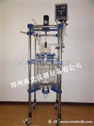 100L双层玻璃反应釜价位,生产厂家,安全性能高