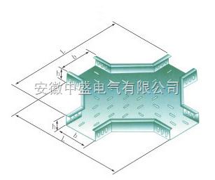 XQJ-P-04 水平四通
