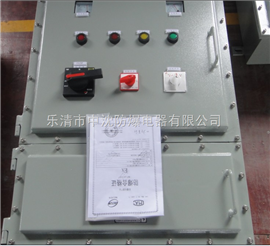 BQXR51两地控制 防爆软起动器