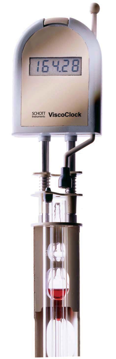 德国Schott自动动粘度计时器ViscoClock