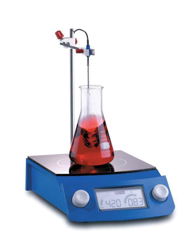 SCHOTT控温型红外线加热电磁搅拌器