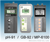 pH-91/ GB-92/ MP-6100Portable pH Meter