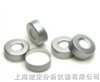 11mm,100只/包銀色開孔鋁蓋帶紅色PTFE/白色硅膠墊(適用于11mm 2ml廣口鉗口瓶 V3211-11GD)